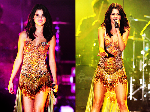 "Selena GOMEZ    ""We Own The Night Tour"""