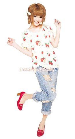 modèles popteen > NYX , ank rouge et fiapper