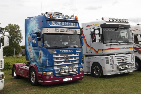 1142  expo de véhicules a  francueil 06/2012 dep 37