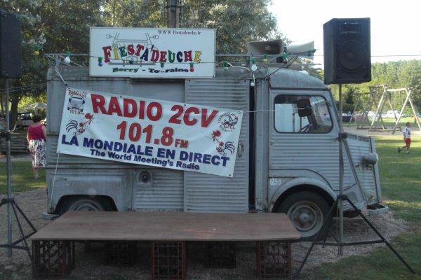 1154  le 11 et 12 / 08 /2012 8 ème concentration de 2 CV - Fiesta'Deuche Berry Touraine
