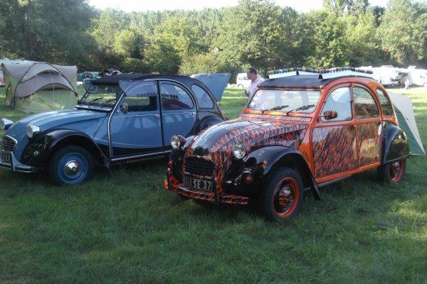 1158 le 11 et 12 / 08 /2012 8 ème concentration de 2 CV - Fiesta'Deuche Berry Touraine