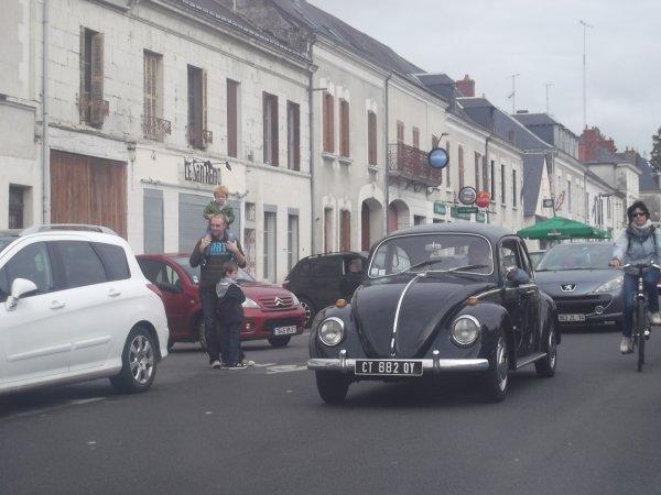 cqnv-37 Embouteillage sur la Route Nationale 10, Sainte-Maure-de-Touraine dep 37 le 15 09 2013