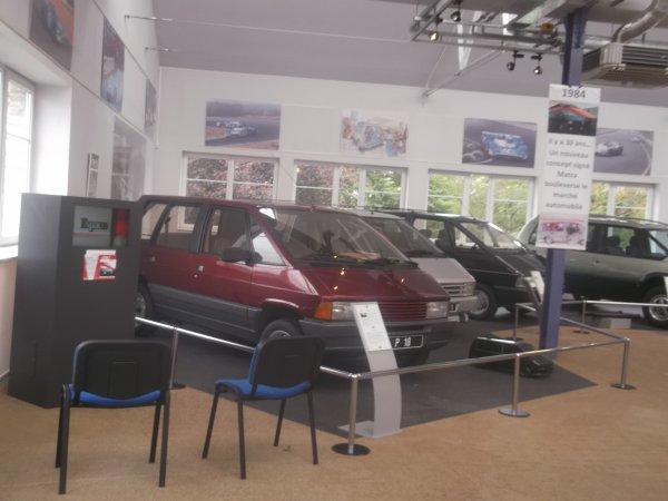 cqnv-37 visite du musèe matra automobile romorantin dep 41