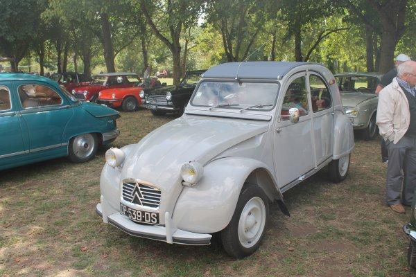 cqnv-37 Lésigny (86) Balade et exposition de motos et autos 15/08/2015