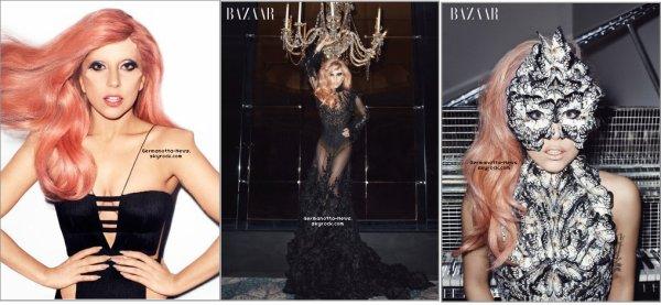 Gaga fait la couverture du magazine Harper's Bazaar ! Comment la trouvez-vous ?