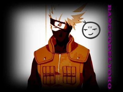Kakashi Hatake. (Mon perso prefere de Naruto Shippuden) :)