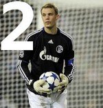 Top 5 des meilleurs gardiens 2011.