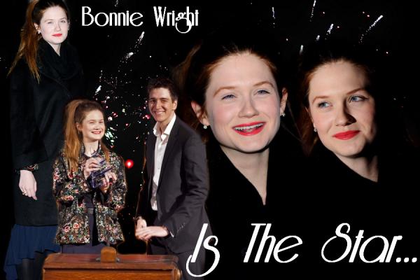 Bonnie en sortie pour un Award et une couverture de magazine. Quand à Evanna, ce sont des nouvelles de Sindab.