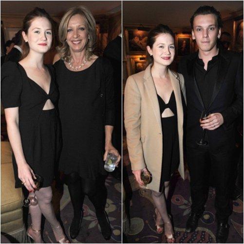 Bonnie et le cast d'Harry Potter au BAFTA.