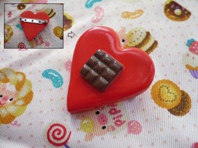 Broche I love Chocolate