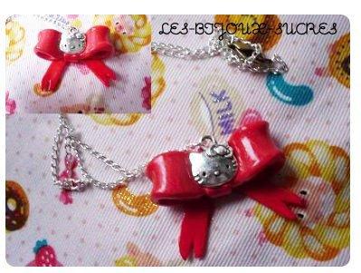 Collier Hello Kitty