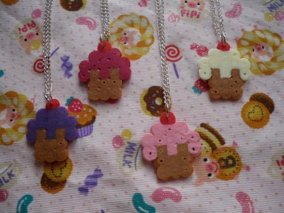 Collier Cupcake !