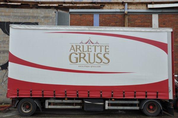 ARLETTE GRUSS OSEZ LE CIRQUE DUNKERQUE  2018