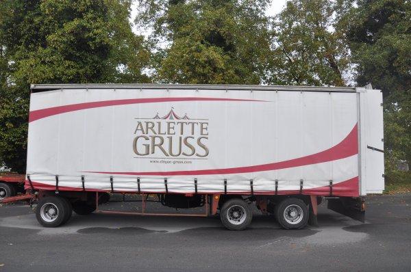 ARLETTE GRUSS OSEZ LE CIRQUE VILLENEUVE D'ASCQ PARKING LES MOULINS  DU 15 AU 18 NOVEMBRE  2018