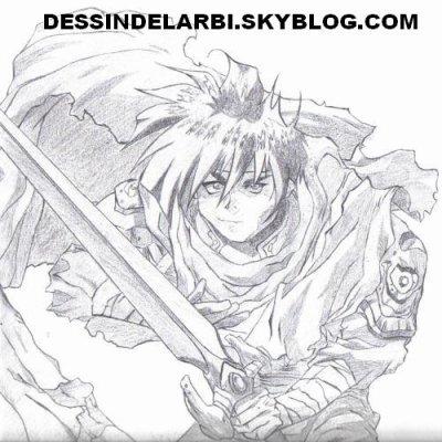 dessin manga personnage
