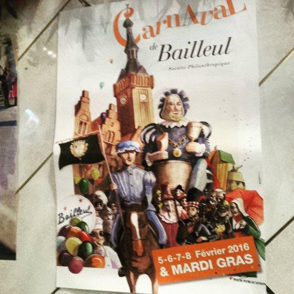 Le carnaval de Bailleul Saison 2016 Episode 1