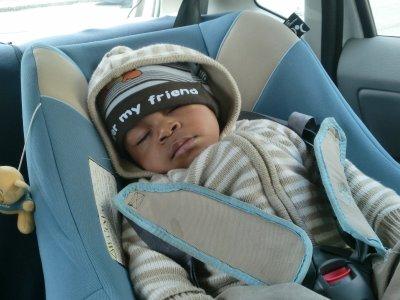 mon neveu entrain de dormir