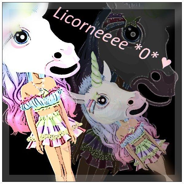 LICORNE ♥