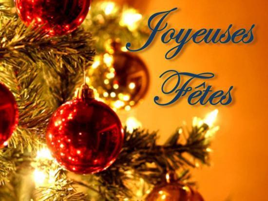 Joyeuses fêtes à tous ;Felices fiestas a todos;Happy holidays to everyone!