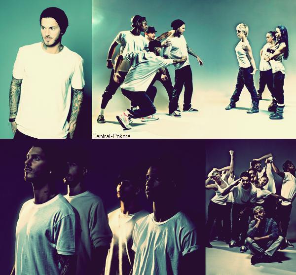 """Flashback : Redécouvrez un shoot de Matt et ses danseurs réalisée en 2011 pour la tournée """"Mise à jour tour"""" !"""