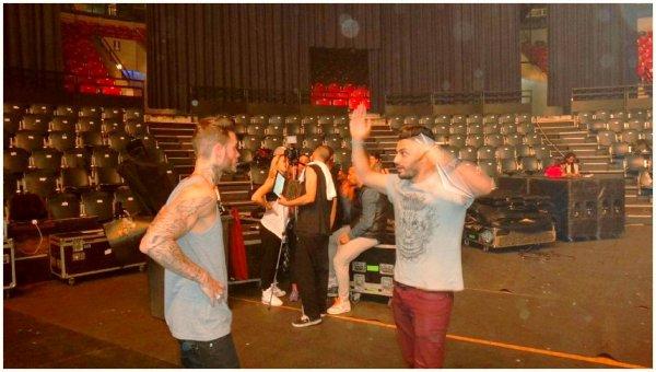"""Matt a un message pour nous en direct des répétitions """"A la poursuite du bonheur tour 2012 """""""