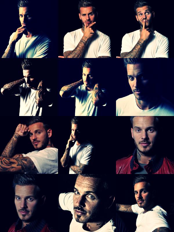 ● Découvrez un magnifique photoshoot de Matt datant de 2011.. !