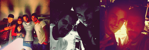 InstaMatt : 1 : Direction Marseille! Ce soir concert pour #radiostar , 2 : Harlem shake ou quoi?, 3 : J-1 !! #lesenfoires #restosducoeur #laboiteamusique #bercy , 4 : Avec Nyco aka frère Tuck! Direction Marseille! On représente Sherwood #tasvu..!