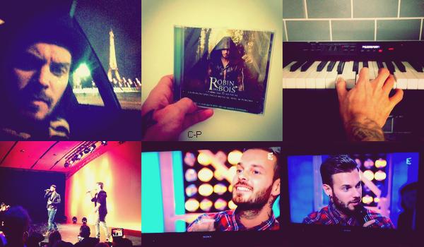 """World Music Award.. ! + InstaMatt : N'oubliez pas que l'album """"Robin Des Bois"""" sort demain en France en édition simple et limitée.. ! Aujourd'hui Matt était présent dans l'émission """"Chabada"""" il a interprétée """"Sur ma route"""" de Raphael avec Amandine Bourgeois, ensuite il a fait un live sur """"Le jour qui se rêve"""" et pour finir il à encore rendu hommage à Raphael en interprétant """"Caravane"""", juste avant la fin il a fait une impro sur """"La providence"""" extrait de l'album Robin Des Bois.. !"""