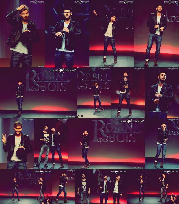 Hier 24 mars Matt était au carrousel du Louvre à Paris avec Dume & Nyco Lilliu pour les Haidressing Awards 2013, ils ont présentée des chansons du spectacle musical Robin Des Bois.. !