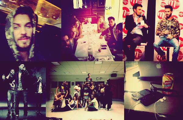 """InstaMatt : Aujourd'hui Matt était avec une partie de la troupe RDB en promo à Lyon pour son rôle dans le spectacle et l'album.. Il en a profité pour faire un peu de shopping et il est passé dans la boutique de Capucine que vous pouvez voir actuellement dans les """"anges 5"""" & Il a postée plusieurs photos sur Instagram à l'occasion de cette journée.. Alexandra Trovato à postée une photo sur Twitter avec la Pokofamily qui laisse entendre qu'ils seront dans l'émission """"Vivement Dimanche"""" avec Matt.. ! & pour finir découvrez une magnifique photo de Matt, Nyco Lilliu & Dume qui a été postée sur Twitter.. !"""