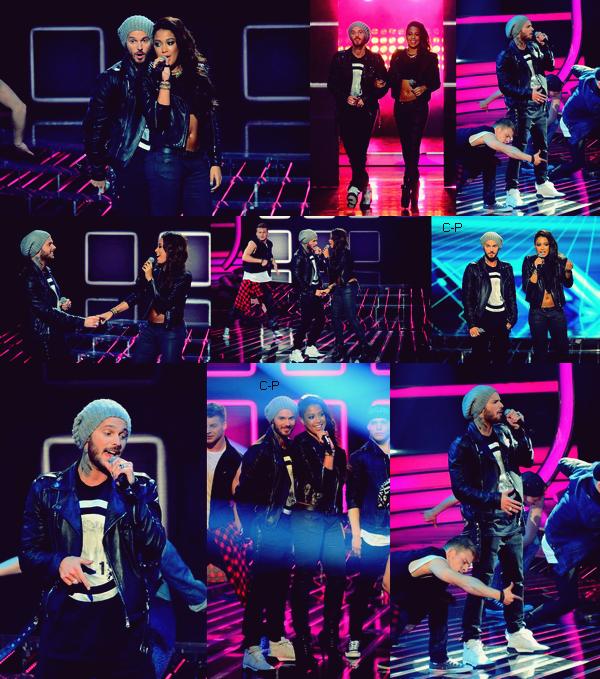"""X Factor Pologne : Comme vous le savez Matt était invité part Patricia Kazadi a venir interprétée le duo sur """"I Wanna Feel You Know"""" dans le célèbre télé crochet polonais.. ! Découvrez les photos de leur prestation.. !"""