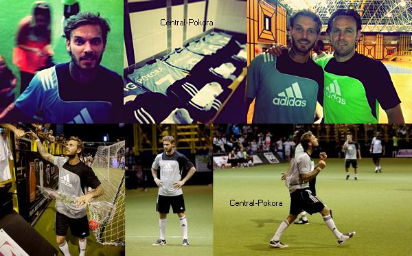 Le 23 juin Matt participait a un tournoi de foot caritatif pour les Enfants du Sahel à Cannet.. ! Découvrez les photos de cet événement !