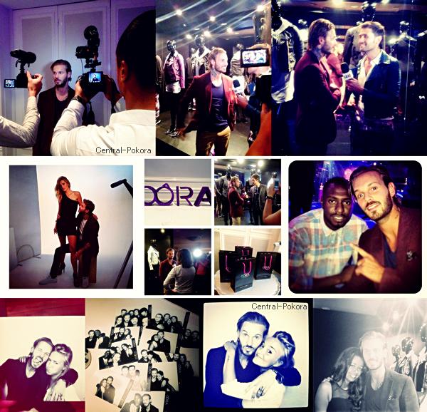 """Découvrez en image la soirée de lancement de la marque """"Oôra"""" à Paris en présence de Matt et de nombreux amies artistes ou pas.. !"""