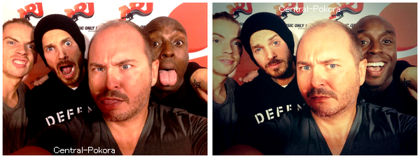 Il y a quelques semaines Matt était invité chez Cauet avec Nyco Lilliu et Marc Antoine pour la promo de Robin Des Bois.. ♥