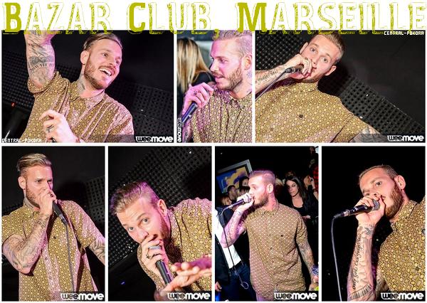 Lors du passage de la troupe RDB à Marseille, Matt en a profitez pour mettre le feu au Bazar.. ♥