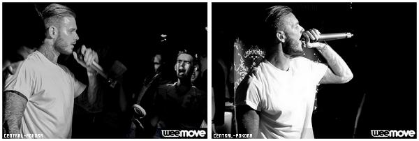 Alors que la troupe de Robin des Bois était en représentation à Limoges, Matt en a profitez pour passé la soirée avec sa team au Showbiz.. ♥