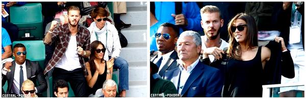 Le 2 juin Matt était à Roland Garros pour soutenir son pote Gael Monfils.. ♥ ( Mon article n'a pas pour but de parlée de la vie privée de Matt )