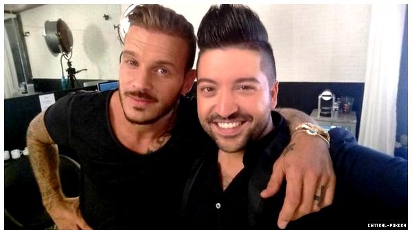 """Matt jury pour """"Danse Avec Les Stars 5"""" tournage de la bande annonce et premiere photo promo officiel ♥"""