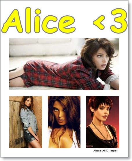 Juste elle, Alice <3