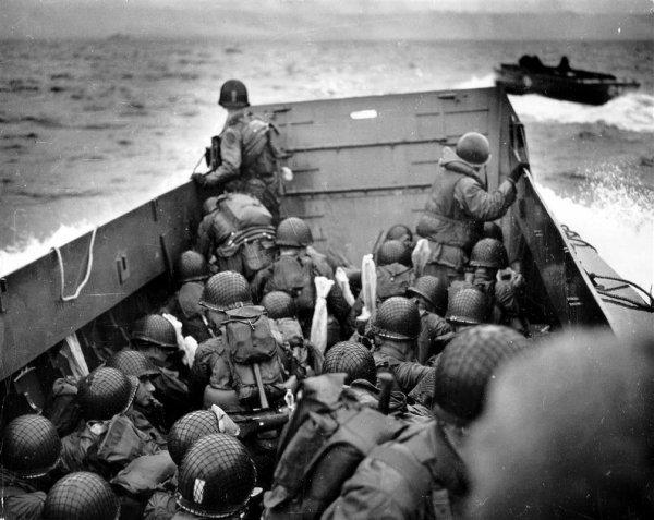 Commémoration du Jour du Débarquement 1944 en Normandie