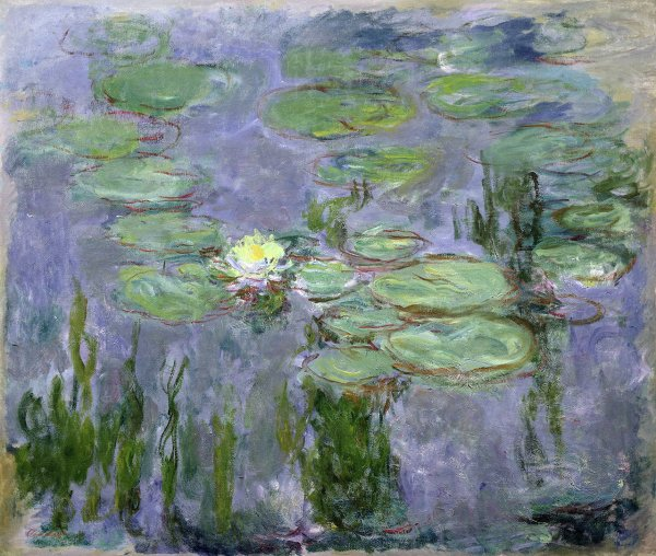 Nymphéas par Claude Monet