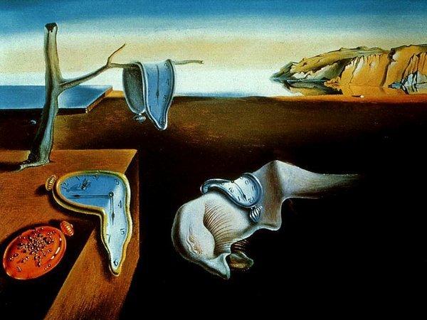 La persistance de la mémoire par Dali