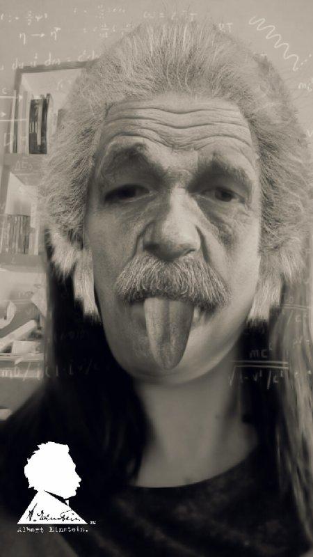 Aujourd'hui je suis Einstein