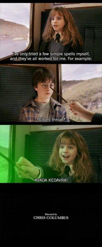 Harry Potter aurait pu finir comme  ça  en 5 minutes