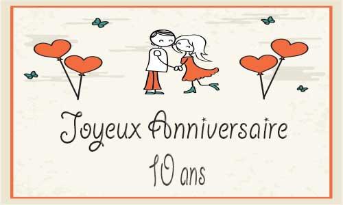 10 ans en couple