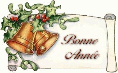 bonne année et plein de meilleurs voeux pour tout le monde ....