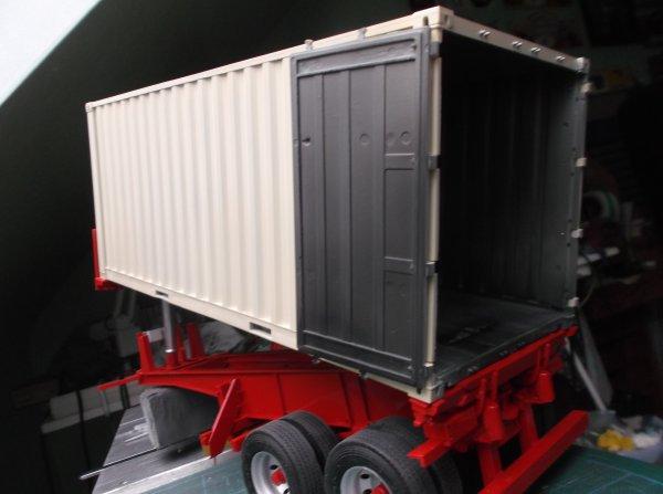 mercedes mp3 petite cabine !! 78 !! le container peint !!!!