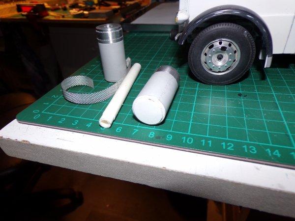US 45 !! début de fabrication des filtres a air !!!