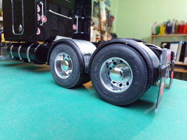 US76 !! arrière châssis tracteur !!