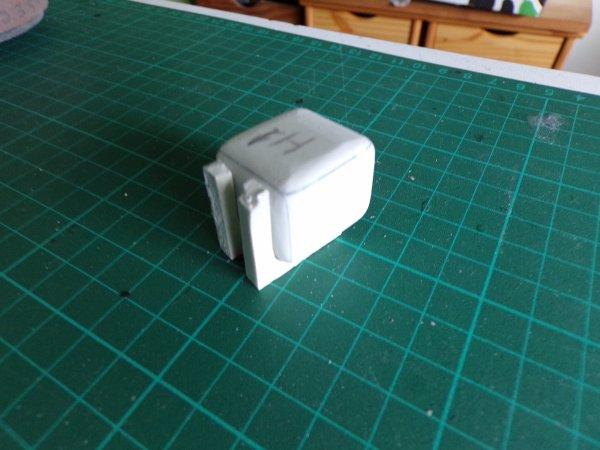 MAN F2000 !!! 09 !!petit réservoir suite et début de fabrication des filtres a air !!